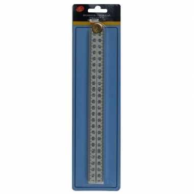 Fiber vouwmeter / duimstok 100 cm