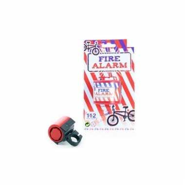 Fietsalarm met brandweer sirenes