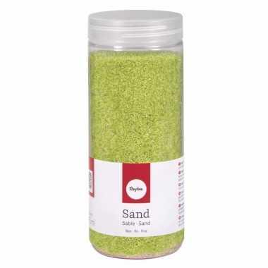 Fijne zandkorreltjes groen