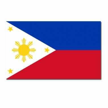 Filipijnse vlag 90x150 cm