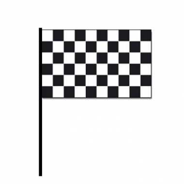Finish zwaaivlaggetjes autoracing