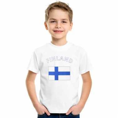 Finse vlag t-shirts voor kinderen
