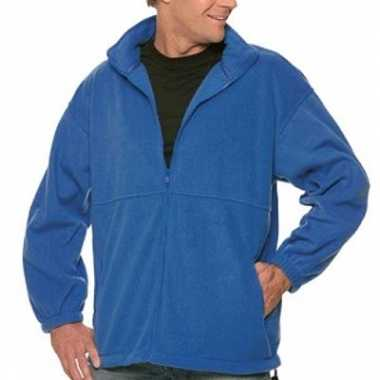 Fleece outdoor jack voor mannen