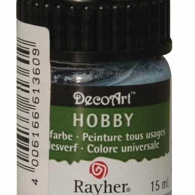 Flesje acrylverf lichtblauw 15 ml