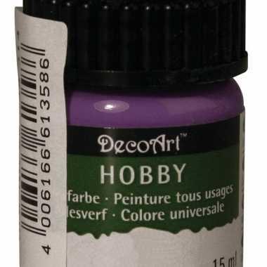 Flesje acrylverf paars 15 ml