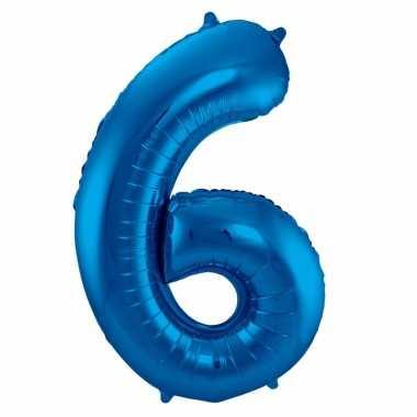 Folie ballon 6 jaar 86 cm