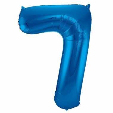 Folie ballon 7 jaar 86 cm