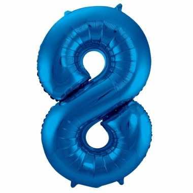 Folie ballon 8 jaar 86 cm