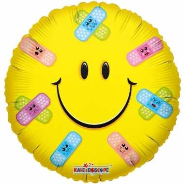 Folie ballon smiley beterschap 35 cm