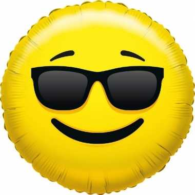 Folie ballon smiley cool 35 cm