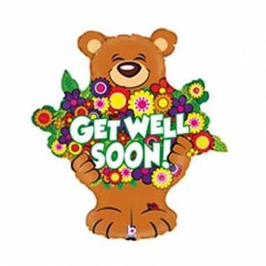 Folie ballonnen get well soon