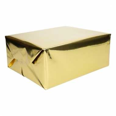 Folie kadopapier goud metallic