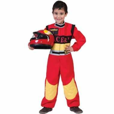 Formule 1 race coureur kostuum voor kinderen