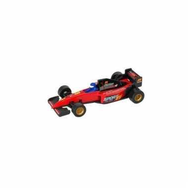 Formule 1 racewagen modelauto rood