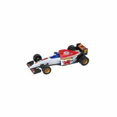 Formule 1 racewagen modelauto wit