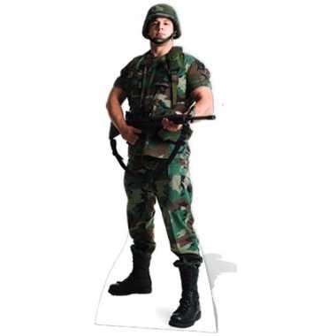 Fotoprint amerikaanse soldaat
