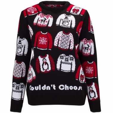 Foute kersttrui could not choose voor dames