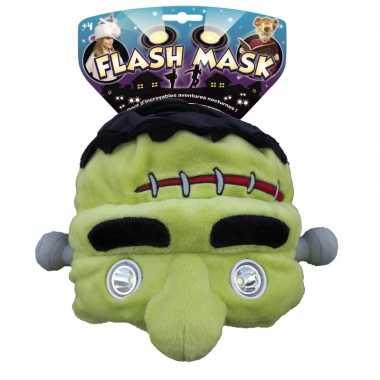 Frankenstein hoofdlamp muts voor kinderen