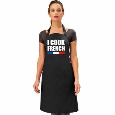 Frankrijk keukenschort i cook french