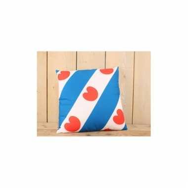 Friesland thema kussen 45 x 45 cm