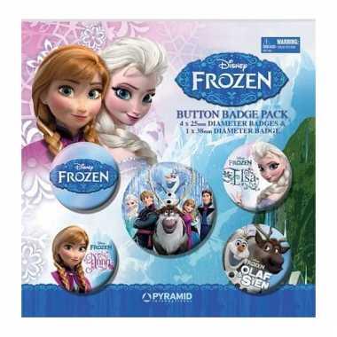 Frozen broches 5 stuks