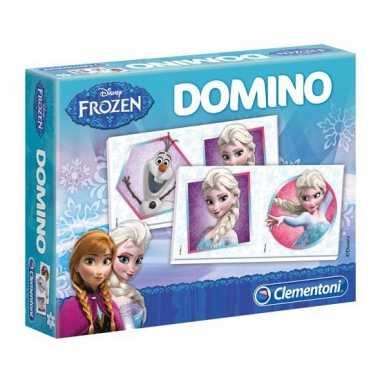 Frozen domino spel