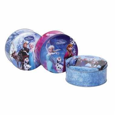 Frozen koektrommels blauw