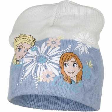 Frozen muts blauwe elsa en anna voor meiden