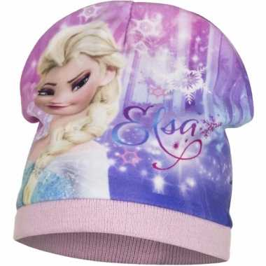 Frozen muts elsa roze voor meiden