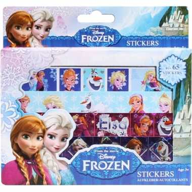 Frozen sticker doos met 4 stickervellen