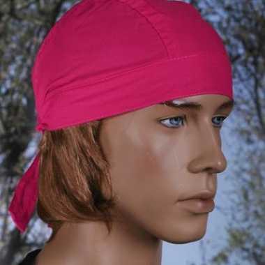 Fuchsia roze bandana uni 1