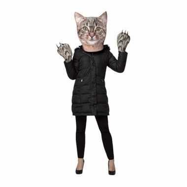 Fun katten verkleedset voor volwassenen