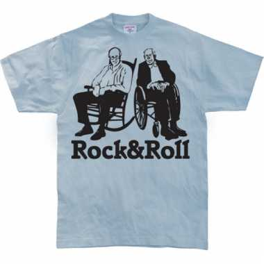 Funny shirt rock & roll