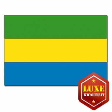 Gabonese vlaggen goede kwaliteit