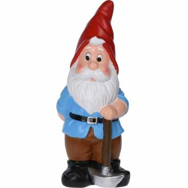 Garden gnome red hat with pickaxe 40 cm