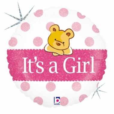 Geboorte ballon meisje