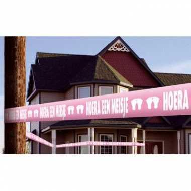 Geboorte lint roze meisjes