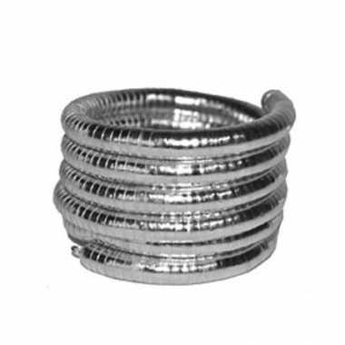Gedraaide zilveren armbanden