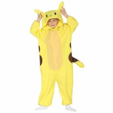 Geel anime kostuum voor kinderen