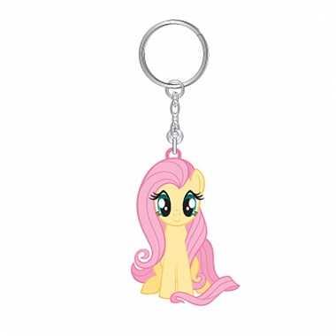 Geel my little pony sleutelhangertje fluttershy voor meisjes