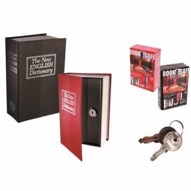 Geheime kluis in de vorm van boek