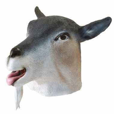 Geiten masker grijs