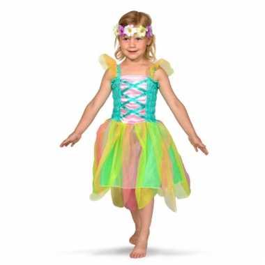 Gekleurd feeen kostuum voor meisjes