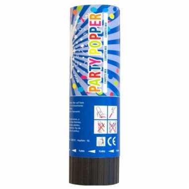 Gekleurde confetti kanon 15 cm