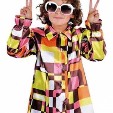 Gekleurde disco kinder blouse