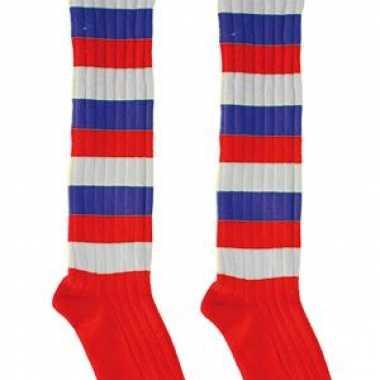 Gekleurde lange feest sokken