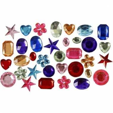 Gekleurde mozaik stenen 15 gram