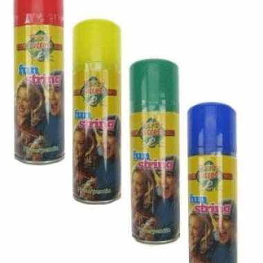 Gekleurde serpentine spray 83 ml
