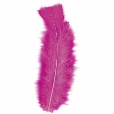 Gekleurde veren roze