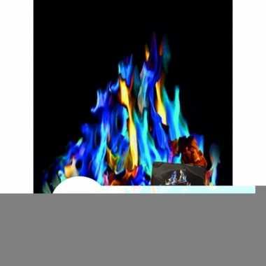 Gekleurde vlammen mystical fire